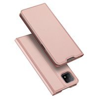 DUX DUCIS Skin Pro Bookcase type case for Oppo A73 5G / A53 5G pink