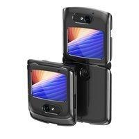 Plating Case hard case Electroplating frame Cover for Motorola Razr 5G black