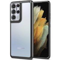 Spigen Optik Crystal Galaxy S21 Ultra Chrome Grey