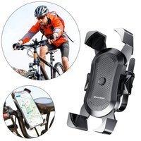 Wozinsky bicycle motorcycle handlebar phone 360 holder black (WBHBK2)