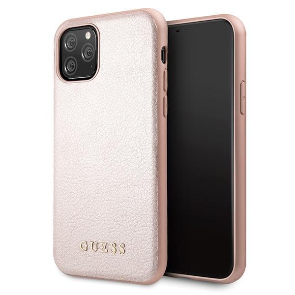 Guess GUHCN58IGLRG iPhone 11 Pro różowo-złoty/rose gold hard case Iridescent