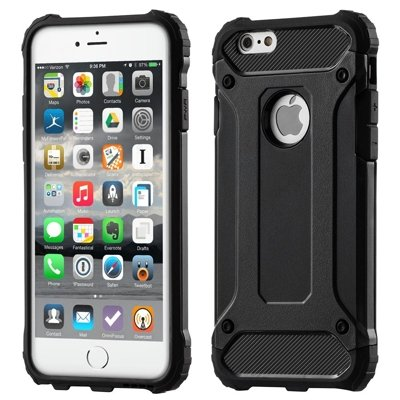 Hybrid Armor Case Tough Rugged Cover for iPhone 11 black