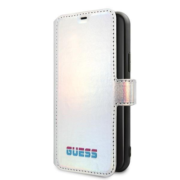 Guess GUFLBKN58BLD iPhone 11 Pro srebrny/silver book Iridescent